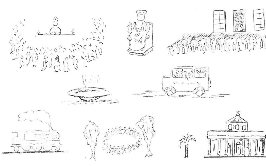 Programma del Pellegrinaggio a Roma del 1975
