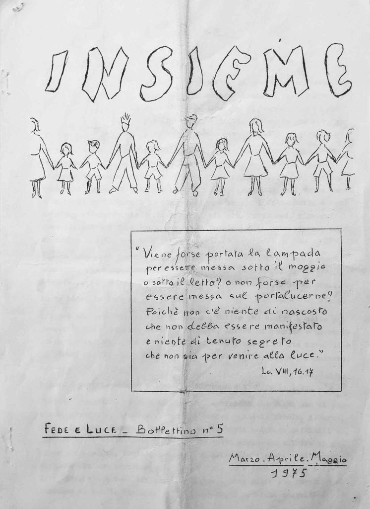 Insieme n.5 – Bollettino Fede e Luce