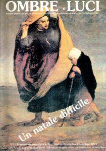 Copertina Ombre e Luci numero 76, 2001 - Un natale difficile