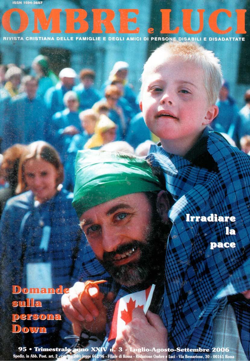 Copertina Ombre e Luci n. 95, 2006