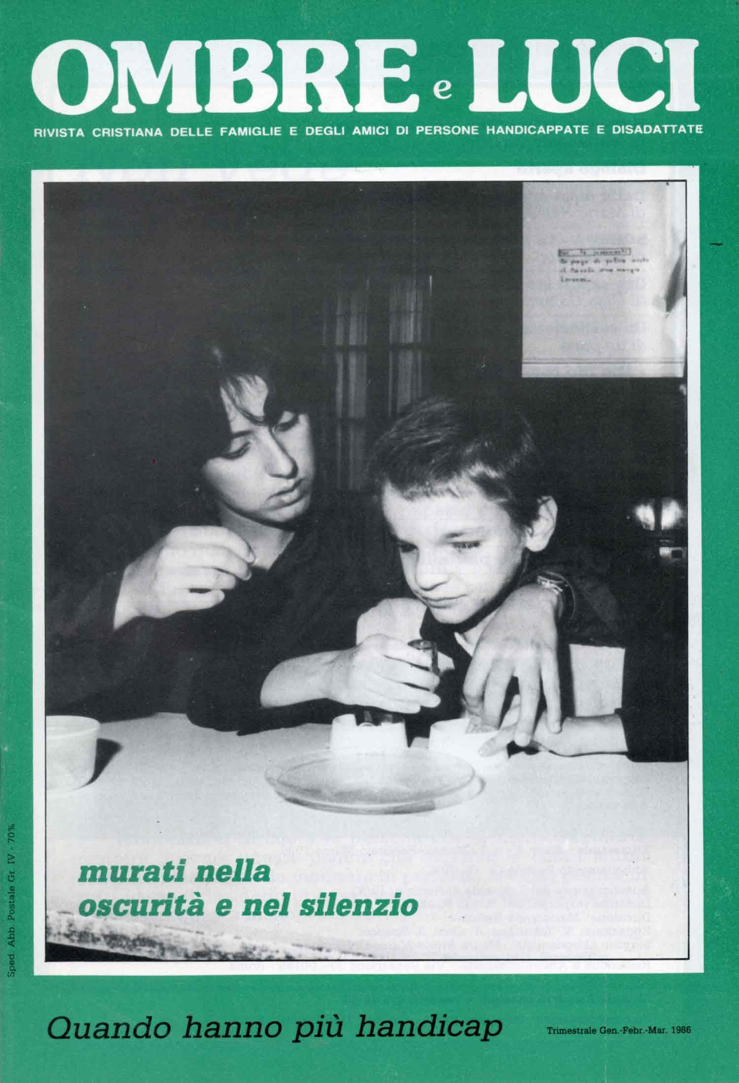 Copertina - Ombre e Luci n.11 - 1986