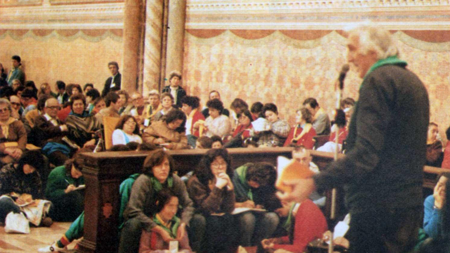 008 - Le foto del pellegrinaggio di Assisi 1986 - Ombre e Luci n.14, 1986