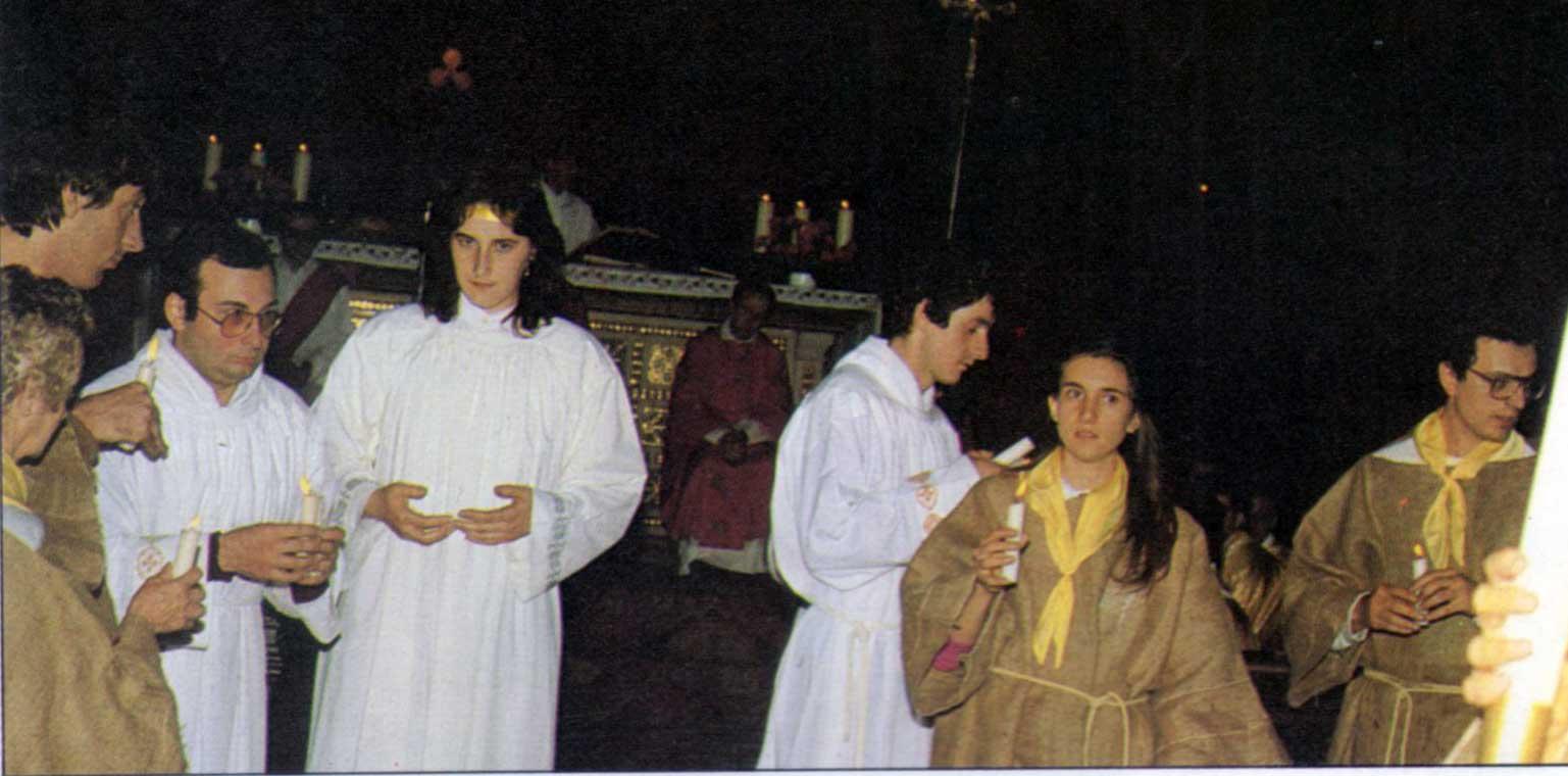 009 - Le foto del pellegrinaggio di Assisi 1986 - Ombre e Luci n.14, 1986
