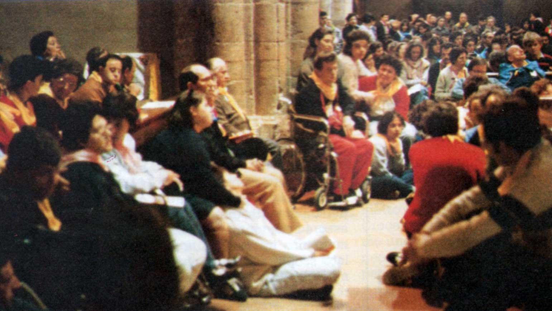 015 - Le foto del pellegrinaggio di Assisi 1986 - Ombre e Luci n.14, 1986