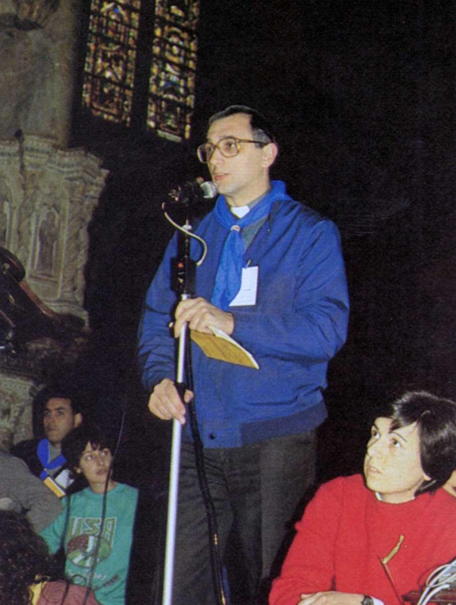 016 - Le foto del pellegrinaggio di Assisi 1986 - Ombre e Luci n.14, 1986