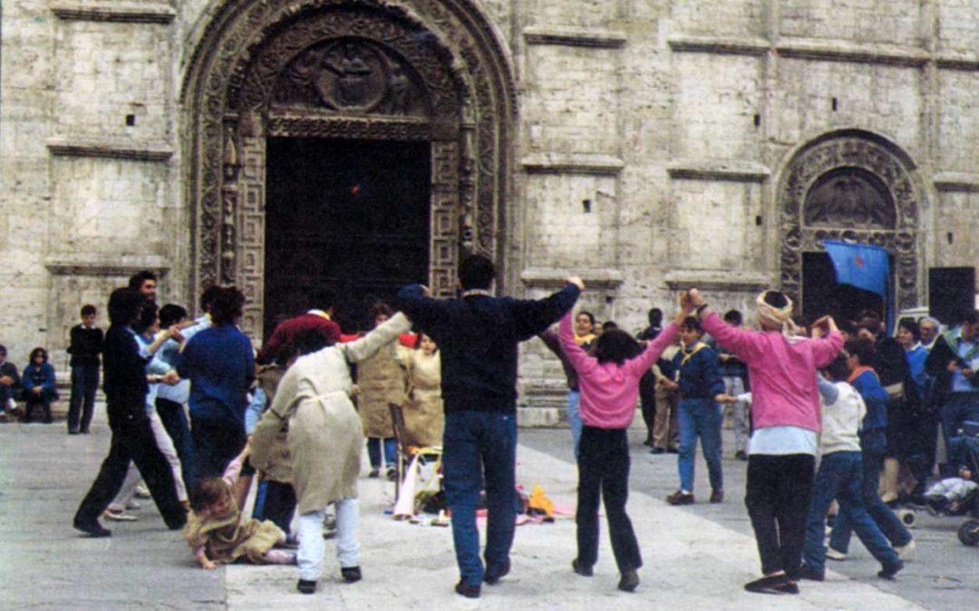 Assisi 1986, le fotografie