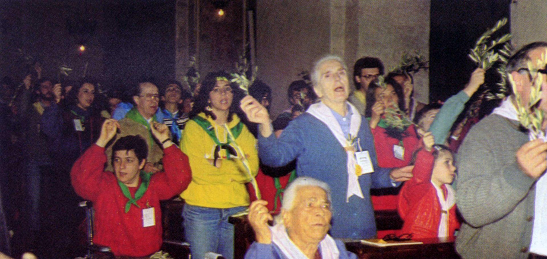 020 - Le foto del pellegrinaggio di Assisi 1986 - Ombre e Luci n.14, 1986