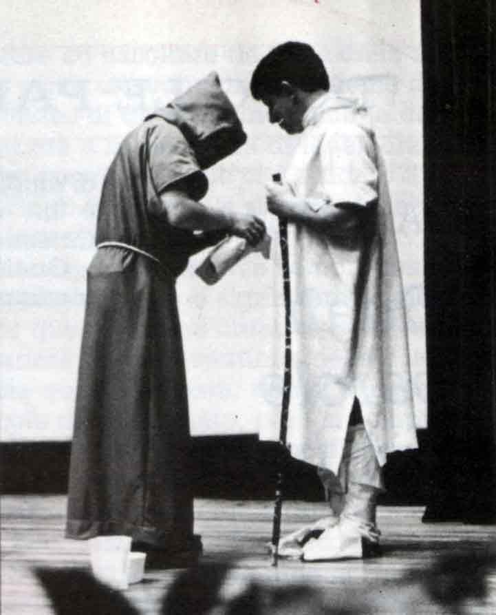Siamo venuti ad Assisi Per capire San Francesco - Ombre e Luci n.14 - 1986