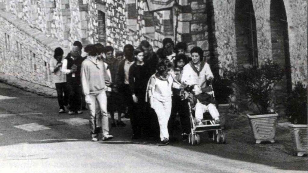 Siamo venuti ad assisi per andare lungo le sue strade - Ombre e Luci n.14 - 1986