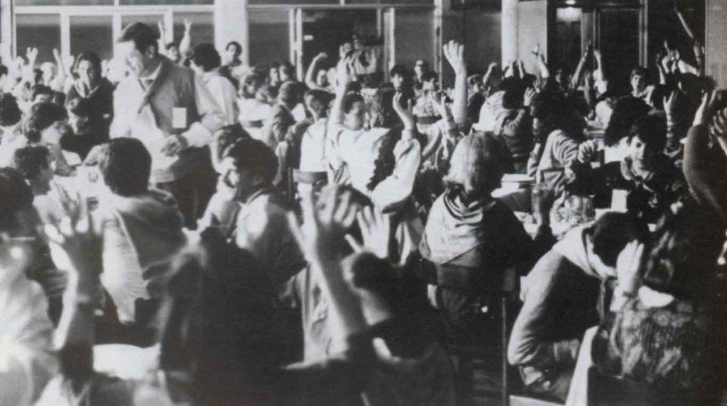 Siamo venuti ad Assisi per vivere insieme giorni di festa - Ombre e Luci n.14 - 1986