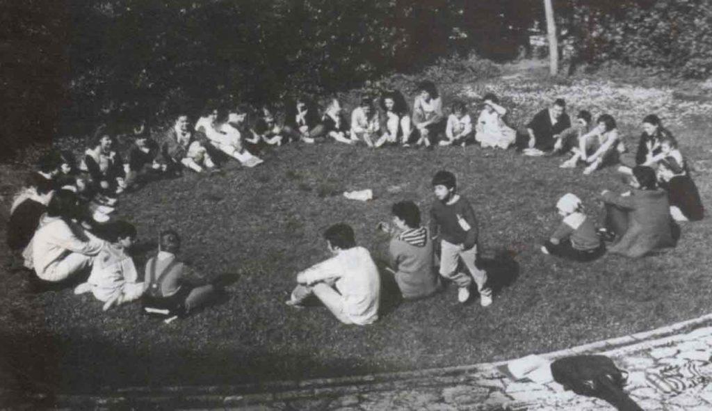 Siamo venuti ad Assisi per crescere anche giocando - Ombre e Luci n.14 - 1986