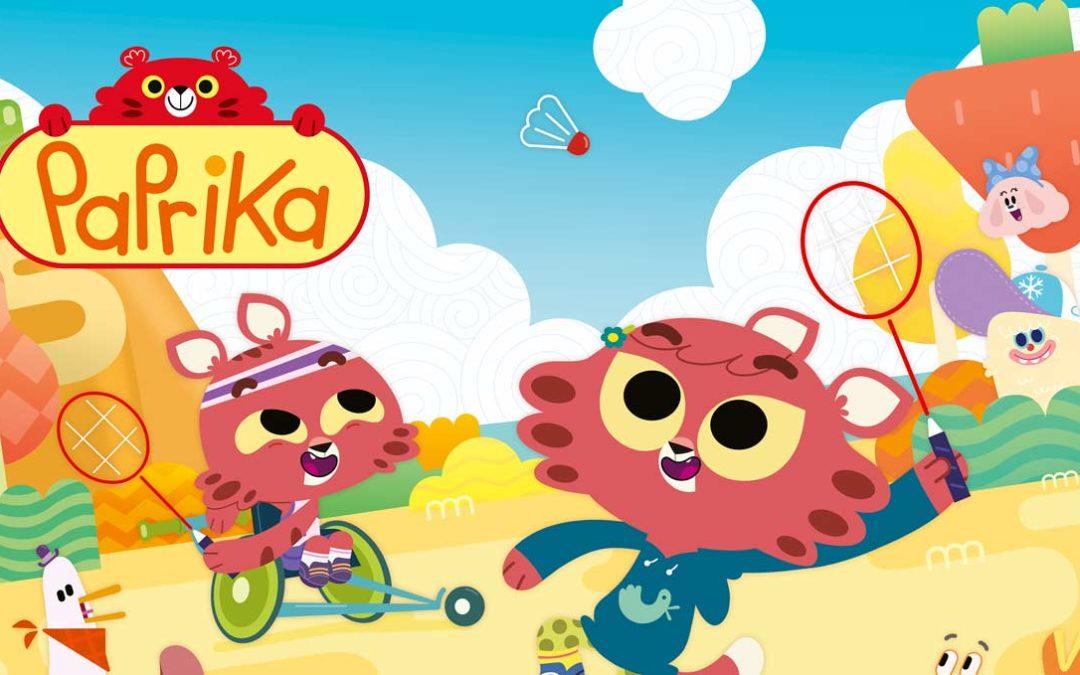 Paprika, la serie a cartoni che supera l'handicap