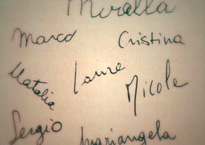Le firme della redazione - Ombre e Luci n.29, 1990.jpg