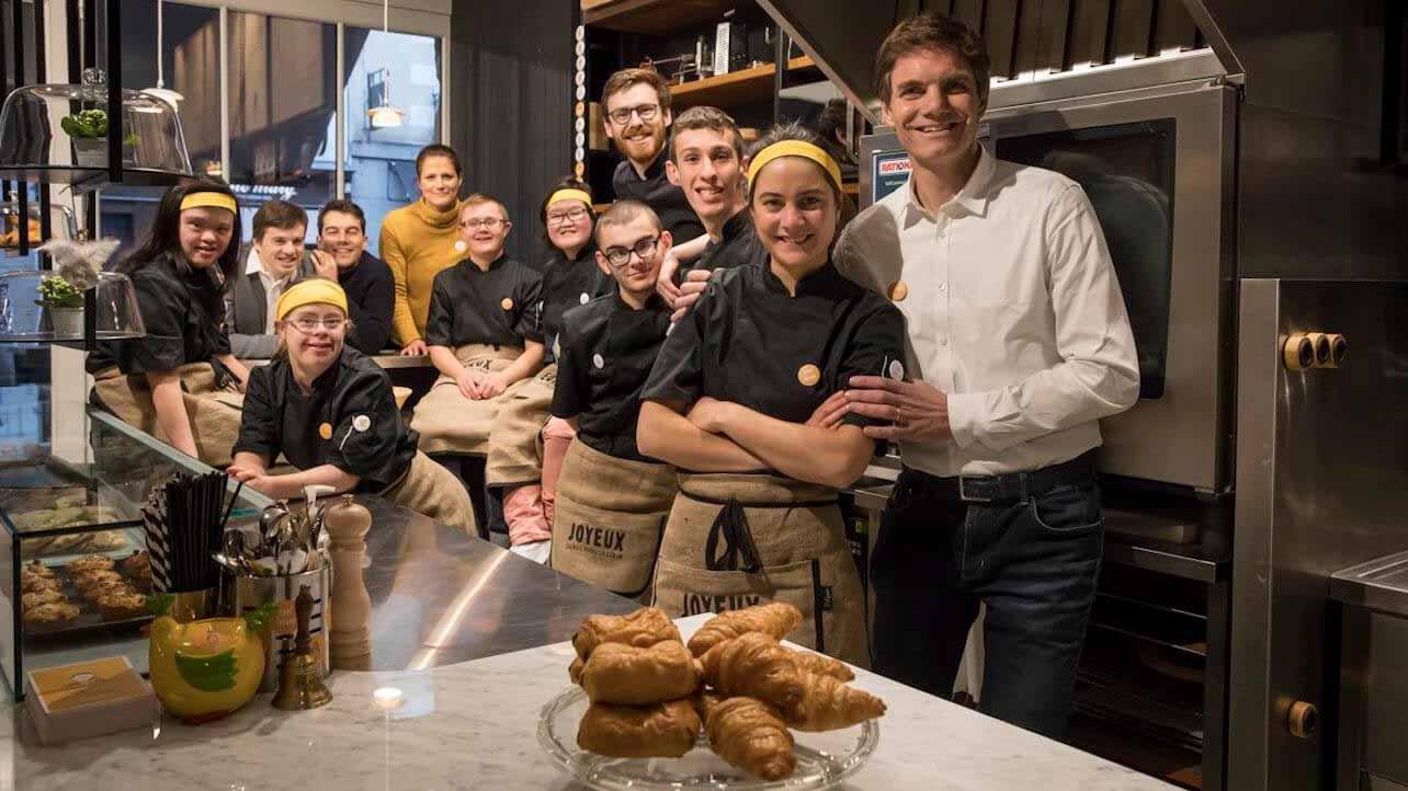 Francia: il progetto inclusivo Café Joyeux è un successo