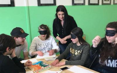 Spiegare la disabilità agli studenti del liceo