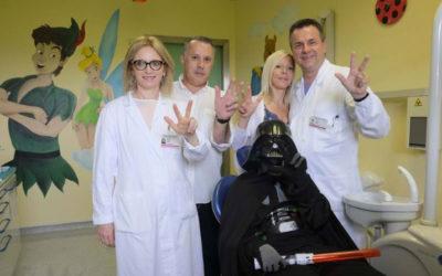 Le Guerre Stellari arrivano in ospedale