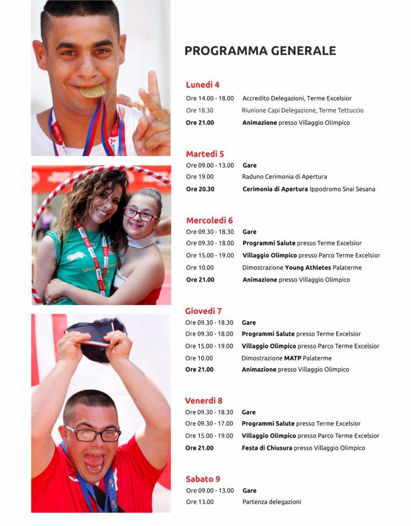 Special Olympics programma