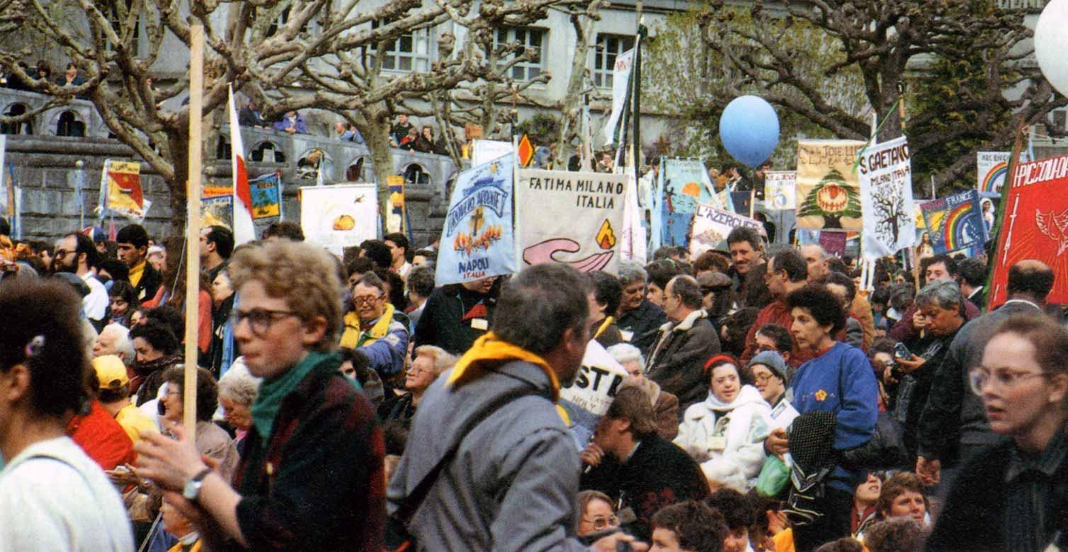 Pellegrinaggio Fede e Luce a Lourdes 1991 - Ombre e Luci n.37, 1992