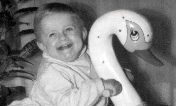 Roberta a 2 anni - Ombre e Luci n.38, 1992