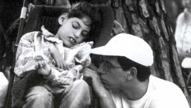 Giuseppe con Emanuele - Ombre e Luci n.38, 1992