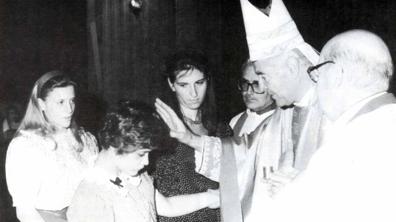 La prima comunione di Flaminia ci ha fatto crescere - Ombre e Luci n.38, 1992