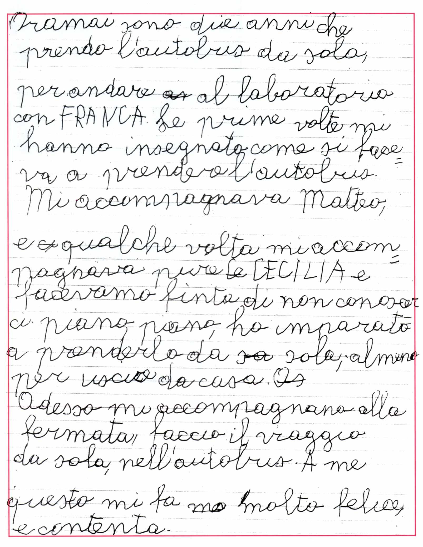 Faccio il viaggio da sola - Ombre e Luci n. 42, 1993
