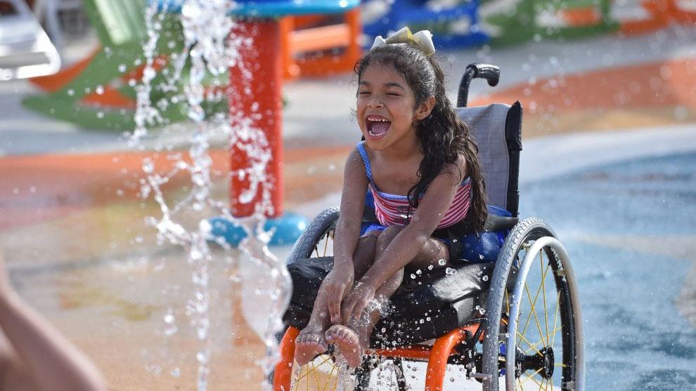 Texas, il parco divertimenti dedicato ai bambini con disabilità