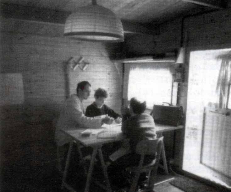 Casa Loïc, le attività: studio: Ombre e Luci n. 45 - 1994