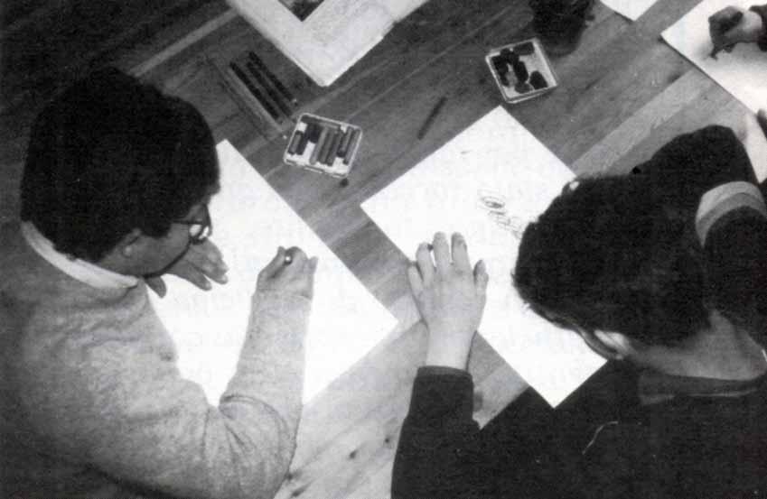 Casa Loïc, le attività: la scuola - Ombre e Luci n. 45 - 1994