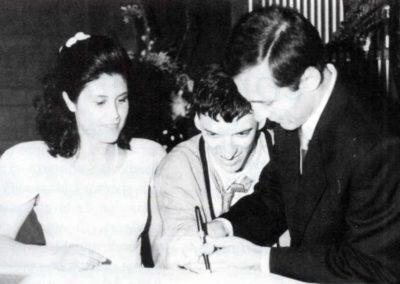 Ivana e Matteo il giorno del loro matrimonio - Non escludiamoli dalla nostra vita - Ombre e Luci n. 47 - 1994