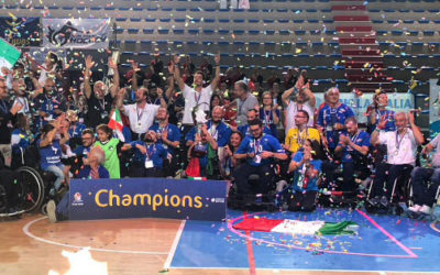 Wheelchair Hockey: per la prima volta Italia campione del mondo