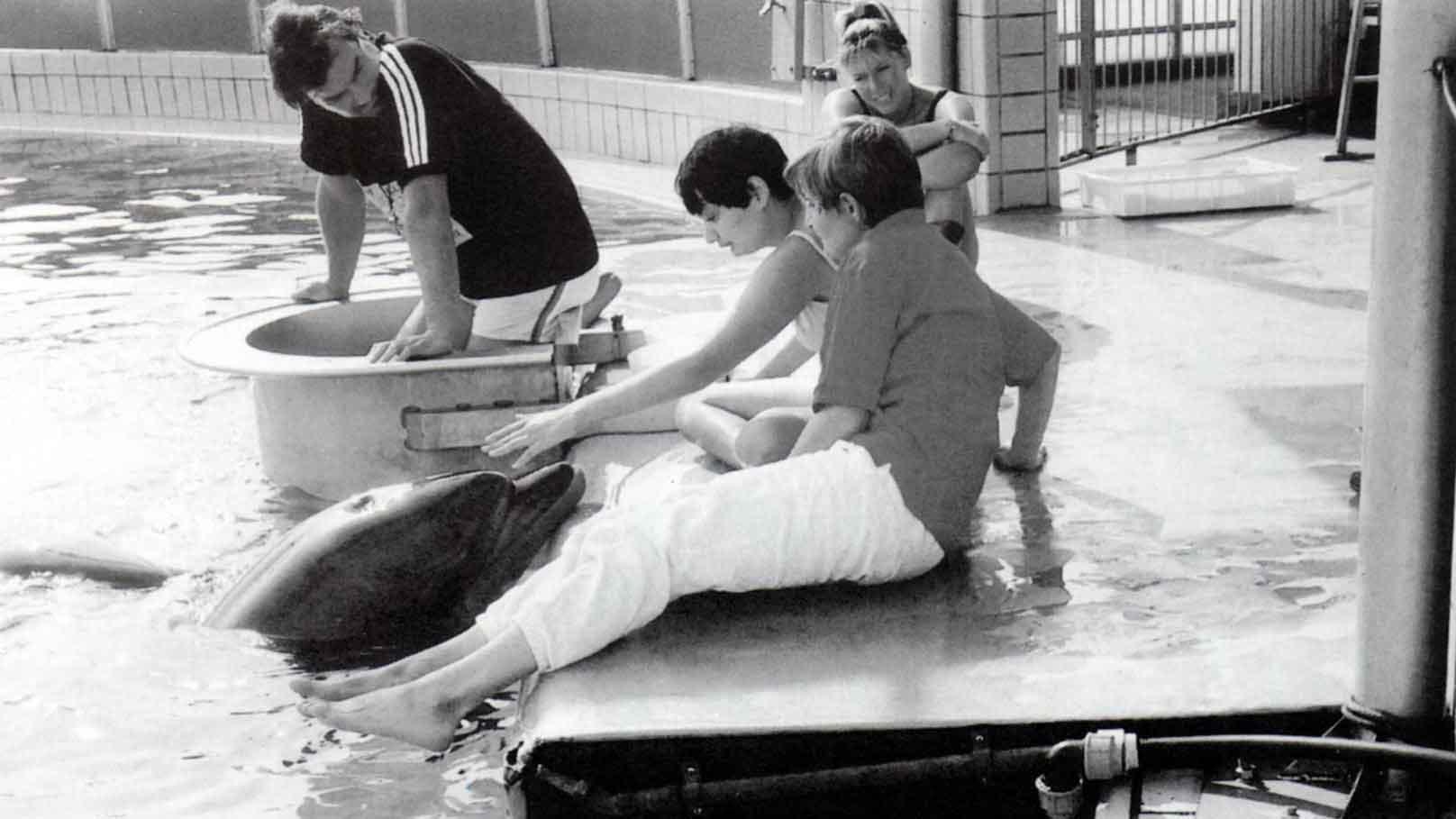 Maria e i delfini