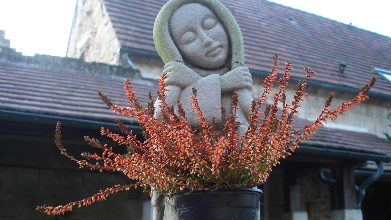 Madonnina all'ingresso dell'Arca di Trosly