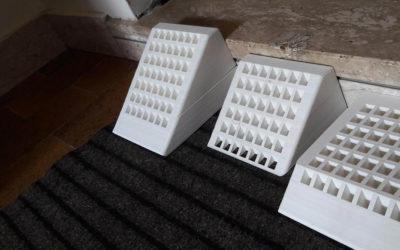 Rampe fai-da-te: il progetto di un diciottenne con una stampante 3D