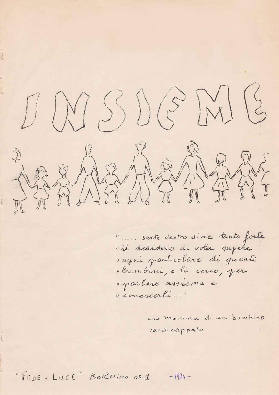 Insieme n.1 – Bollettino Fede e Luce