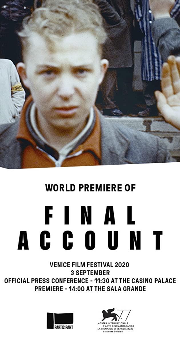 Final Account Locandina (2020)